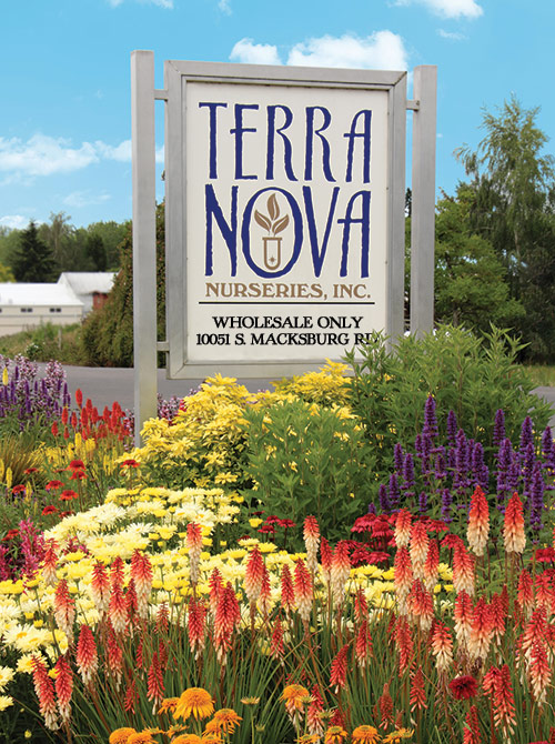 TERRA NOVA® Nurseries - Sign
